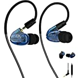 Best Fitness Earphones - Running Earphones, Dual Drivers In Ear Monitors Waterproof Review