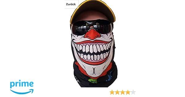 Écharpe tube aspect masque de clown  Amazon.fr  Sports et Loisirs 7ae51bfc543