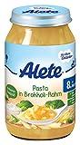 Alete Pasta in Brokoli-Rahm