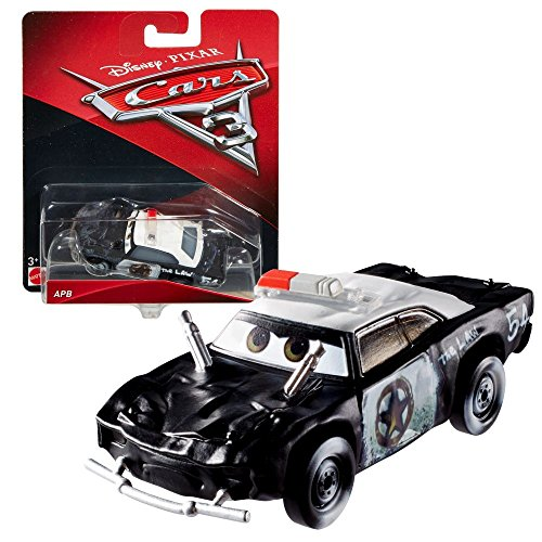 Film- & TV-Spielzeug Disney Pixar Cars Micro Raoul Caroule Rennwagen Mattel mit Metallkugel