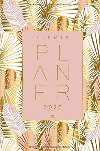 Terminplaner 2020: Terminkalender und Kalender 2020 - Organisiere, plane und notiere mit deinem Taschenkalender 2020 - Wochenplaner für das neue Jahr 2020