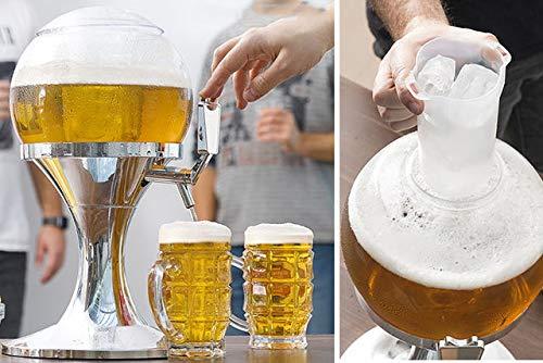 Il nuovo distributore di birra rinfrescante. the original spillatore tavolino di birra fresca a tappo 3,5 litri ugello refrigerato