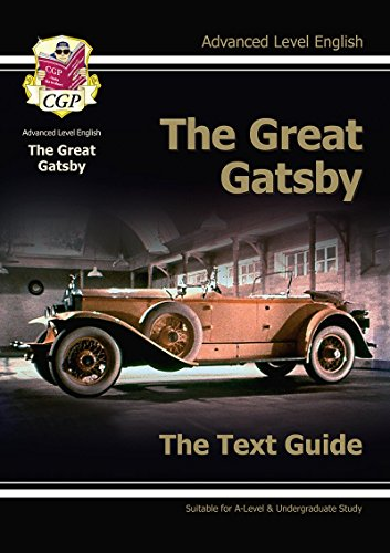 A Level English Text Guide - The Great Gatsby (Text Guides)