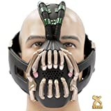 Bane Mask Adult Cosplay Costume for Halloween Carnival Party