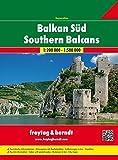 Southern Balcan Serbia-Montenegro-Kosovo-Macedonia-Albania 1:200.000