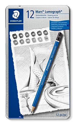Staedtler Mars Lumograph 100 G12 S. Pack 12 lápices