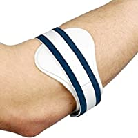 Body and Base Ltd TM Tennis Golfers Elbow Epicondylitis Support Clasp Gives Compression to Damaged Tendons for Pain Relief and Protection. (Medium)
