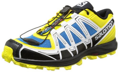 SALOMON Fellraiser Scarpa da Trail Running Uomo, Giallo/Nero, 44 2/3
