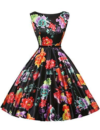 50s vintage rockabilly kleid festliches kleid sommerkleider petticoat kleid swing dress Größe M CL6086-14