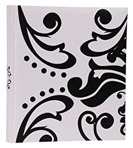 Album Photo HENZO LIV - blanc - pour jusqu'a 500 photos 10 x 15 cm - 100 pages blanches - dimensions: 33 x 30 cm