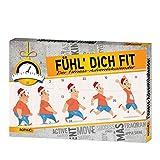 Roth R80245 'Fühl dich Fit'-Adventskalender Adventskalender, Sortiment aus verschiedenen Materialien, Bunt, 50 x 35 x 4 cm