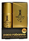 Paco Rabanne 1 One Million Geschenk-Set für Herren 100 ml Eau de Toilette + 150 ml Deo