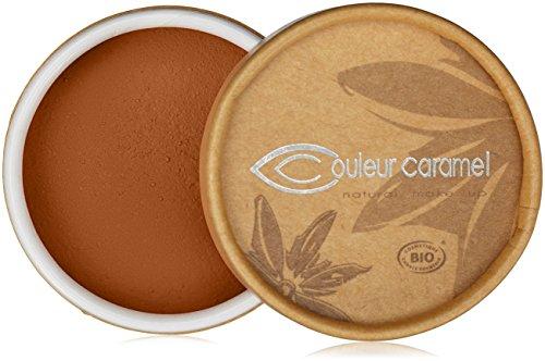 Couleur Caramel Fond de teint Minéral poudre libre 08 Brun ocre 6g