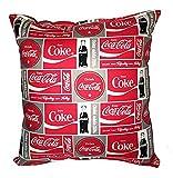 Coca-Cola almohada artesanal coque soda almohada enfriamiento sed Coca Cola almohada hecho A mano en USA almohada nueva es aproximadamente 25.4cm x 27.94cm
