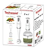 Electromenager Best Deals - Techwood Mixeur Plongeant 3 en 1
