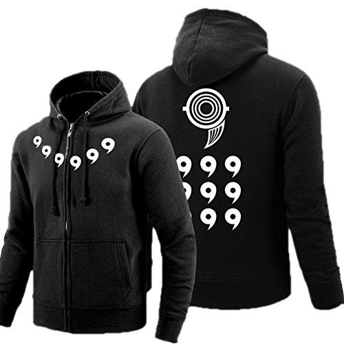 Naruto Zubehör Cosplay Kostüm Und - Anime Six Fee Jacke Herren Kapuze pullover Cosplay Kostüm Hoodie Zip Sweatshirt Mantel Frühling Herbst Kleidung Zubehör