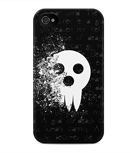 Death Note Shinigami Mask Hard Plastic Snap On Back Case Cover For iPhone 4 / 4s Custodia