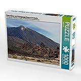 Teide Vulkan und Felsengruppe Roques de Gracía 1000 Teile Puzzle quer (CALVENDO Natur)