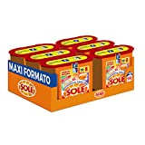 Sonne Perle/Farbe, Waschmittel für Waschmaschine in Kapseln Einzeldosispipetten, bunte, Triple Action, Megapack mit 156Wäschen