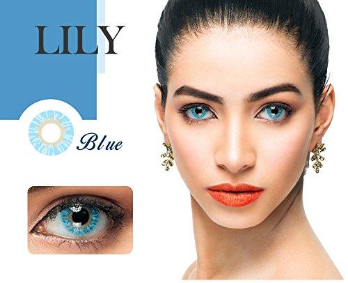 Tageslinsen Farbige Kontaktlinsen Weich Natürliche verschiedene Farben ohne Stärke 1 Paar