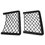 Dhoutdoors elastisches Netz, Aufbewahrungsmagazin für Auto/Caravan/Wohnmobil/Boot, 2 Stück