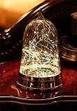 HAPPYMOOD Lampe zum Weihnachten Valentinstag Geschenk, Zeichenfolge LED Beleuchtung Tabelle Dekorativ Licht Niedrig Reise Warm Weiß zum Party Festival Benutzen