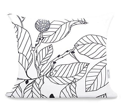 2 Fundas De Almohada 50x60 cm Modern algodón satén