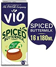 Vio Spiced Buttermilk, Pack of 16 x 180 ml