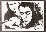 moreno-mata Arya Stark Il Trono Di Espade (Game Of Thrones) Handmade Sreet Art - Artwork - Poster