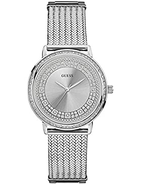 GUESS WILLOW Damen-Armbanduhr 35mm Armband Edelstahl Automatik Analog W0836L2