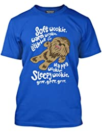 Soft Wookie, Warm Wookie, Little Ball of Fur T-Shirt - Adults and Kids Various Colours Available Sizes Age 3/4 - 3XL
