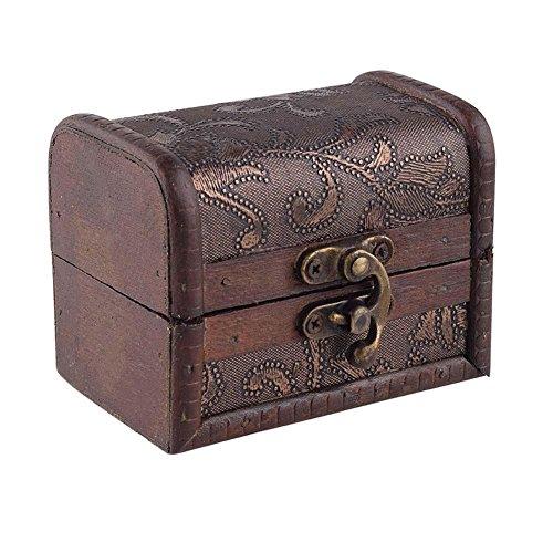 Elegante-Vintage-pequeas-joyas-cofre-del-tesoro-caso-Manual-de-bloqueo-de-metal-caja-de-madera