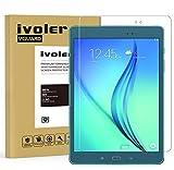 iVoler Verre Trempé Compatible avec Samsung Galaxy Tab A 9.7 Pouces (T550 / T555), Film Protection en Verre trempé écran Protecteur Vitre