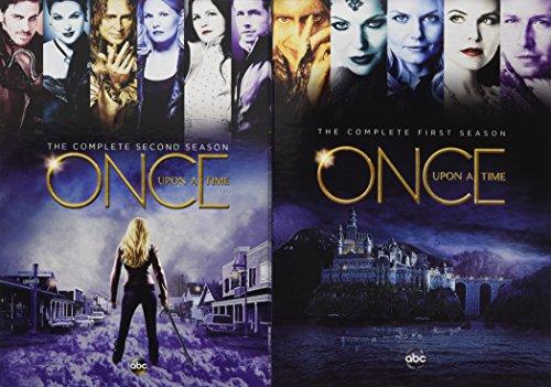Once Upon A Time: Season 1 & Season 2 (10 Dvd) [Edizione: Stati Uniti]
