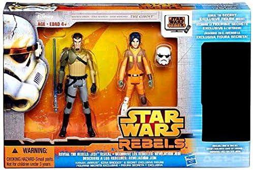 Star Wars Rebels The Ghost Reveal the rebels : Jedi Reveal pack of 3 figures 9 cm | De Haute Qualité Et De Bas Frais Généraux