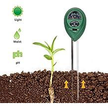 Coquimbo 3-en-1 Planta Kit de probador de Suelo, medidor de Humedad