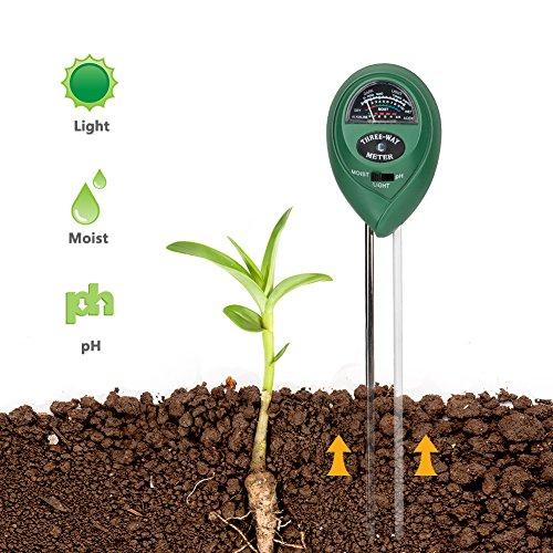 Coquimbo 3-en-1 Planta Kit de probador de Suelo