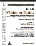Platinum Notes Medical Sciences (2015-16) Vol.2