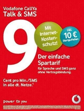 VODAFONE Talk & SMS 10 ?