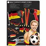 NASS® WM Fanpaket mit Deko- und Fanartikeln für Männer für die Fußball-Weltmeisterschaft 2018