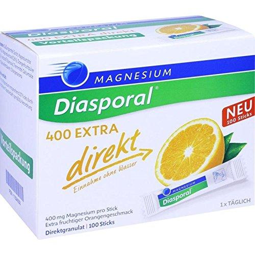Magnesium-Diasporal 400 EXTRA direkt, 100 St. Direktgranulat -