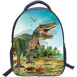 Freahap Cartable enfant Sac à Dos Motif Dinosaure Charmant #4