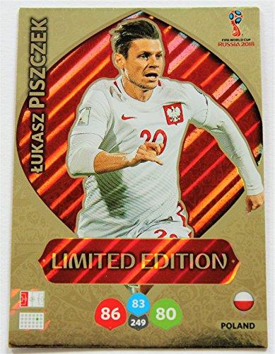 Panini Adrenalyn XL WM 2018 Russland - Piszczek Polen Karte limited Edition (Edition Limited Wm-karten)