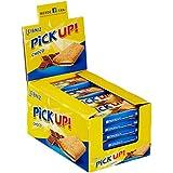 Leibniz PiCK UP Choco 24 x 28 g-knackige Schokolade, knuspriger Keks-für unterwegs-lecker für zwischendurch-Riegel-Schokoriegel zum snacken-einzeln verpackt-Großpackung-für die ganze Familie-lecker