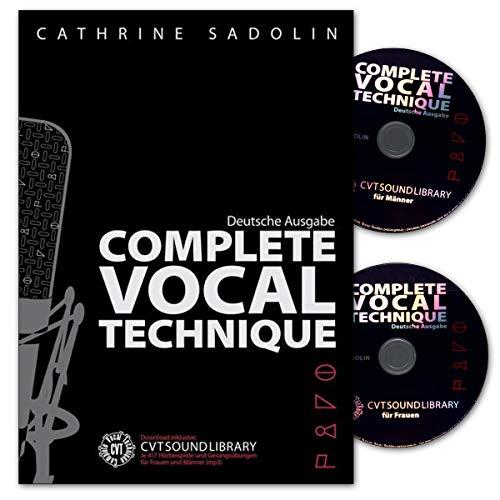 Complete Vocal Technique, Deutsche Ausgabe - Lehrbuch für Gesang mit 2 CDs - Verlag Bosworth BOE7701 9783865438065 - Cd Gesang-buch Mit Der