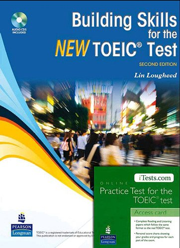 Building Skills for the new TOEIC Test + iTest par Lin Lougheed