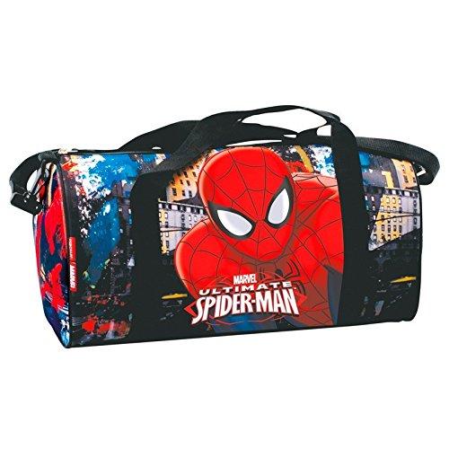 Stadt Spiderman Einkaufsnetz für die Turnhalle Preisvergleich
