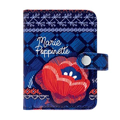Porte-cartes FOLK Marie Poppinette - Derrière la porte