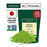 VAHDAM, Tè Verde Matcha | 100% PURO Tè in Polvere Matcha Giapponese | 137 Volte Più ANTIOSSIDANTI | Più Energia e Concentrazione | Per Detox e Perdere Peso | tè matcha | Superfood Giapponese | 50g