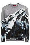 BOSS Hugo Boss Hugo Oversized Sweatshirt DOUNTAIN aus Baumwolle mit Berg-Motiv (XL)